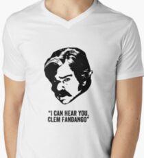 Toast of London 'I can hear you Clem Fandango' Men's V-Neck T-Shirt