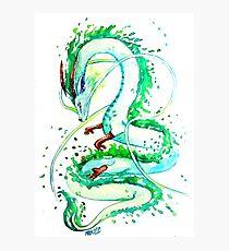 Haku Dragon - Spirit of the River  Photographic Print