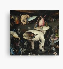 Heironymus Bosch - The Garden Of Earthly Delights Canvas Print
