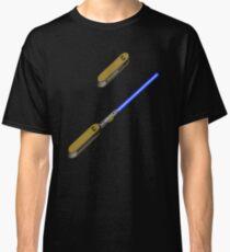 light-swiss-knife-blue-2 Classic T-Shirt