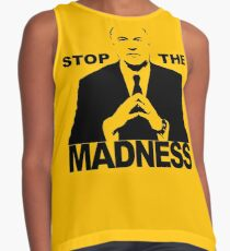 Mr Wonderful - Stop the madness Contrast Tank