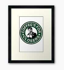 Coffee's for Closers Parody Framed Print