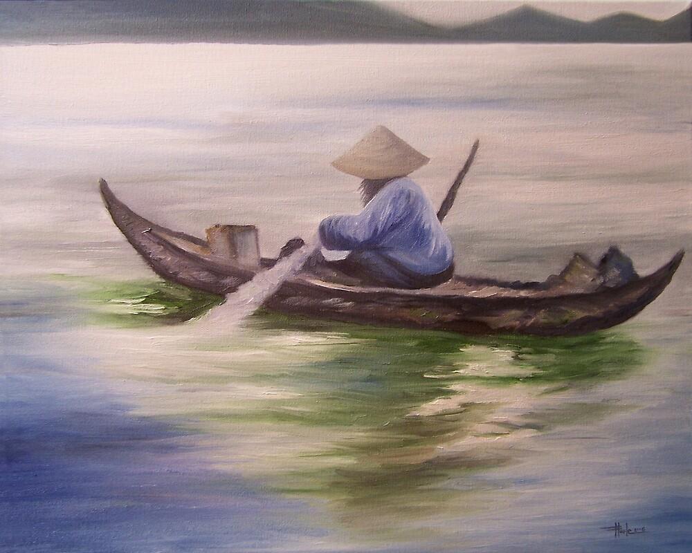 A Day in Halong Bay by John Houle
