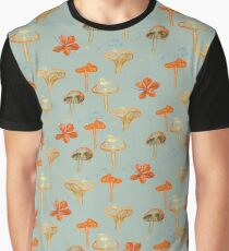 Herbstmuster - Pilze  Graphic T-Shirt