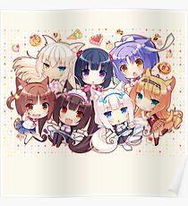 Neko Chibi Poster