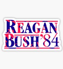 Reagan Bush 84 - Tusk In The Sun Lilly Pulitzer Sticker