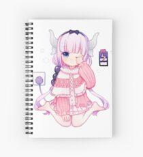Loli Dragon Spiral Notebook