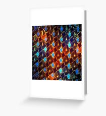 Floating lights Greeting Card