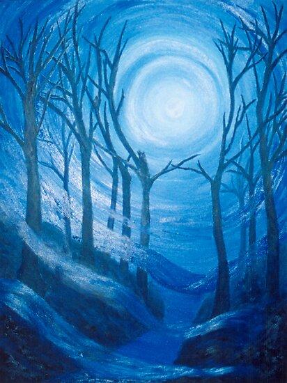 U Storm Moon by Bluemoonshadow