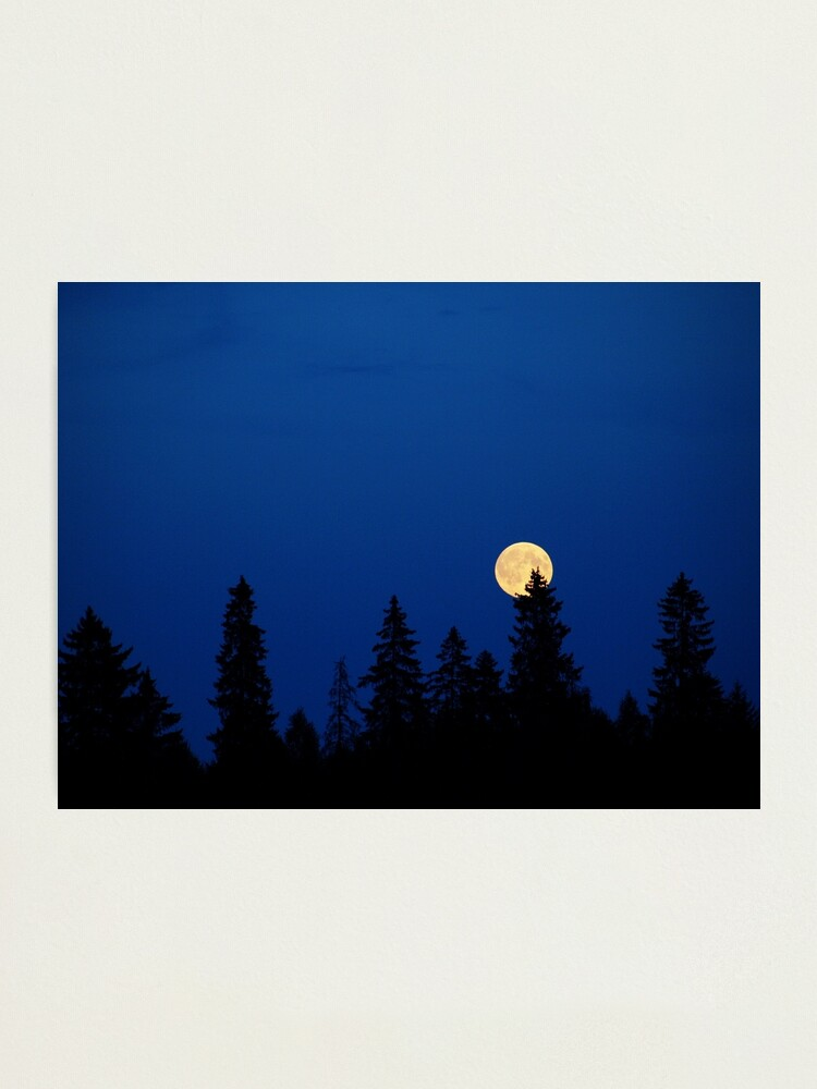 Alternate view of The Moon Photographic Print