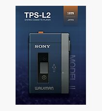 Sony Walkman - TPS-L2 Model 2 Photographic Print