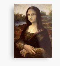 ACEO Mona Lisa I Metal Print