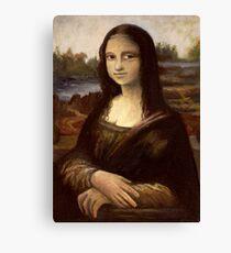 ACEO Mona Lisa I Canvas Print