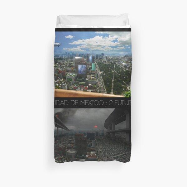 Ciudad de Mexico - 2 futuros Duvet Cover