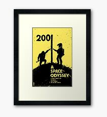 2001: A Space Odyssey Poster Framed Print