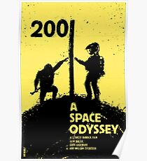 2001: A Space Odyssey Poster Poster