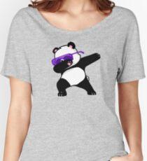 Dabbing Panda Women's Relaxed Fit T-Shirt