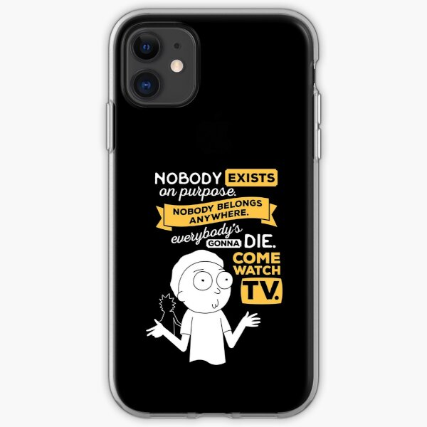 Nobody Exists on Purpose iPhone Soft Case