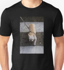 The best thing about this leash is I'm the leader!   Unisex T-Shirt