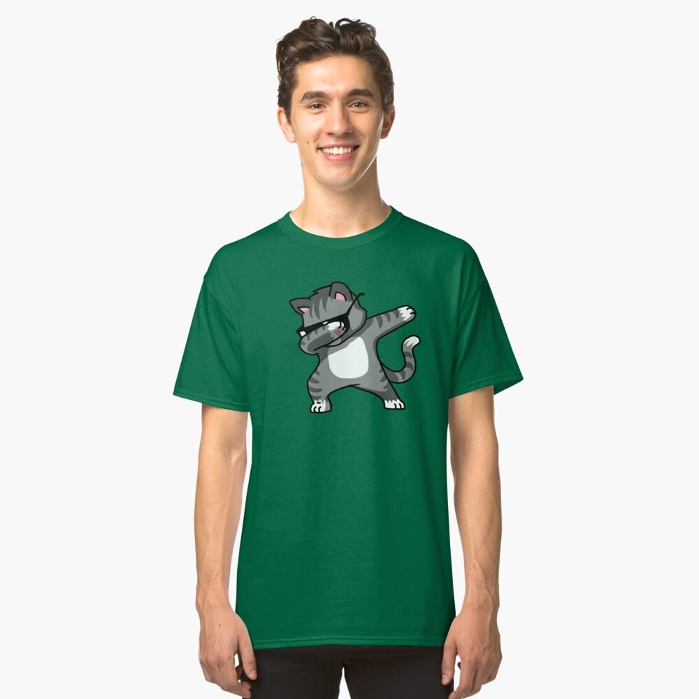 Dabbing Cat Funny Hip Hop T-shirt Classic T-Shirt