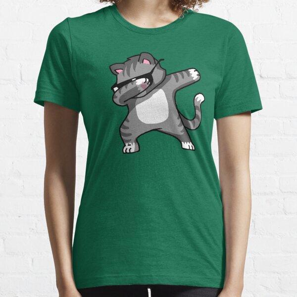 Dabbing Cat Funny Hip Hop T-shirt Essential T-Shirt