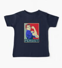 Rosie the Riveter: Nevertheless She Persisted Baby Tee