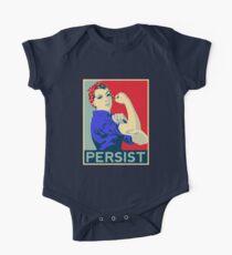 Rosie der Nieteneinschläger: Trotzdem blieb sie bestehen Baby Body Kurzarm