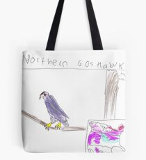 Northern Goshawk Hanging Out Tote Bag