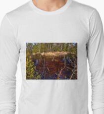 Brännösbäcken at Store Mosse Long Sleeve T-Shirt