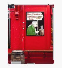 Beer Garden and Smoking Area iPad Case/Skin