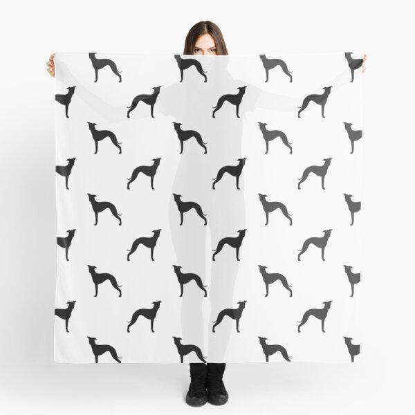Italian Greyhound Silhouette(s) Scarf