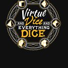 Virtue and Vice and Everything Dice by Carl Huber