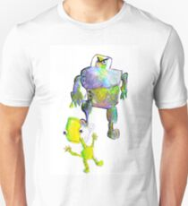 Robot, extraterrestre Unisex T-Shirt