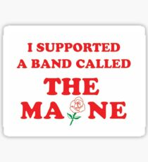 The Maine  Sticker