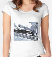 Scarborough Spa Express Graphic Novel Women's Fitted Scoop T-Shirt
