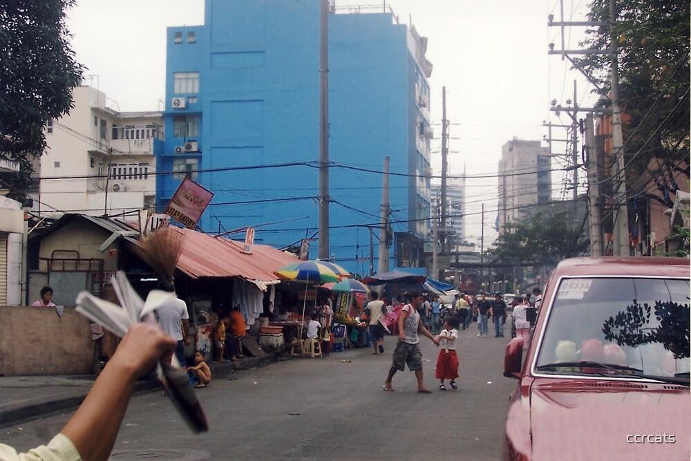 Manila street. by ccrcats