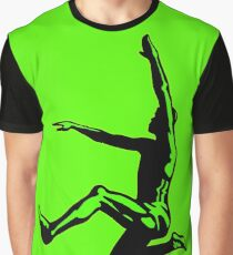 Long Jumper Silhouette  Graphic T-Shirt