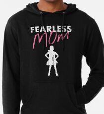 Sudadera con capucha ligera Fearless Girl - MOM - Rosa