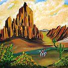 Arizona Desert by WhiteDove Studio kj gordon