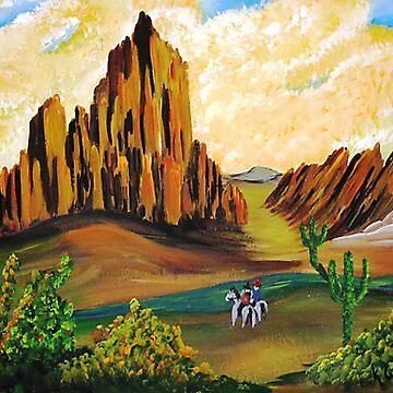 Arizona Desert by kjgordon