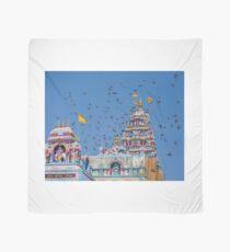 Colorful Hindu Temple India  Scarf