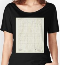 USGS TOPO Map Colorado CO Sunnydale 402120 1949 24000 Women's Relaxed Fit T-Shirt