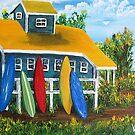 THE BUNKHOUSE by WhiteDove Studio kj gordon