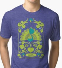 peacocks Tri-blend T-Shirt