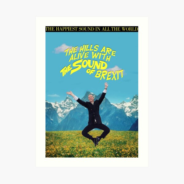 The Sound of Brexit Art Print