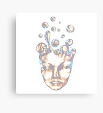 Iridescent Slow Boil Spirit Canvas Print