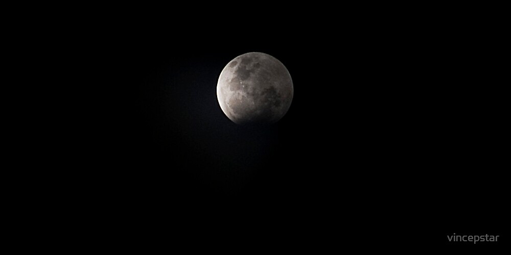 Lunar Eclipse by Vince Lovrich