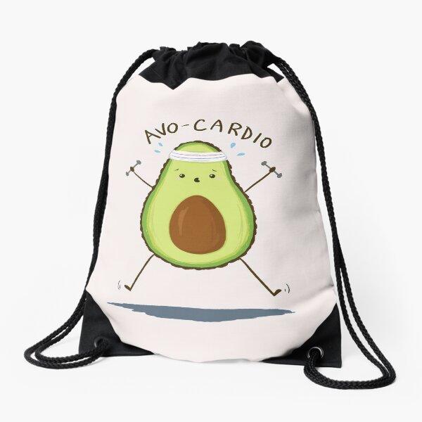 Avo-Cardio Drawstring Bag