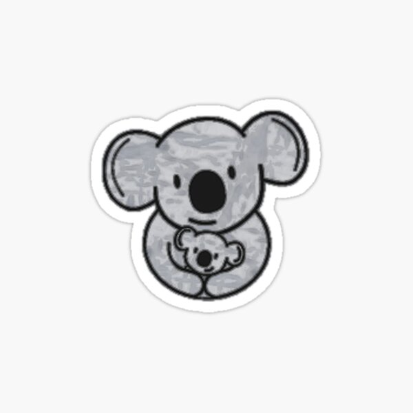 Koala Cuddles Sticker