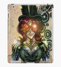 steampunk tophat iPad Case/Skin